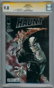 Haunt #7 CGC 9.8 Signature Series Signed Robert Kirkman Image comic book